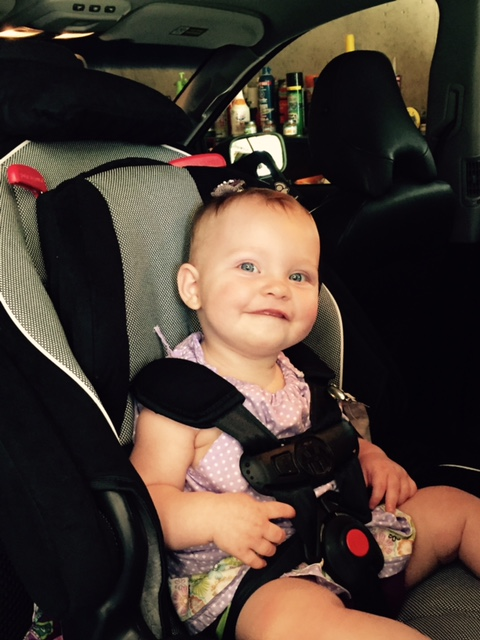 I love my big girl car seat!