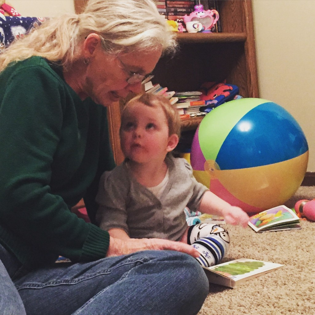Reading with Mimi! #nye2015