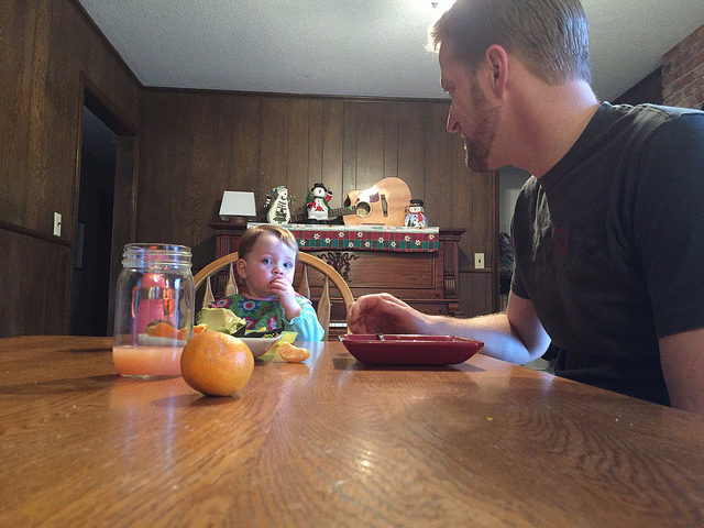 Breakfast with Daddy