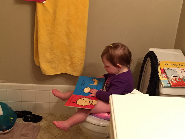 After a couple weeks, you were doing awesome at the  potty thing!