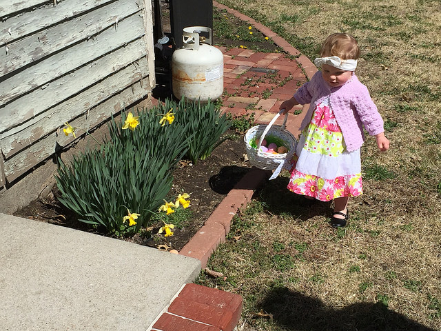 Looking Spring-y for Easter even tho it was quite chilly
