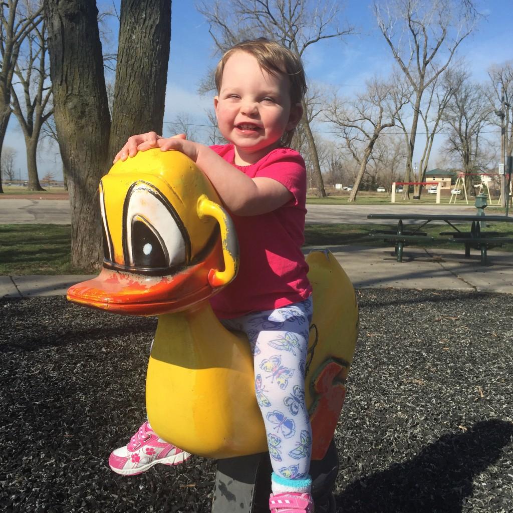 Loving some playground time!