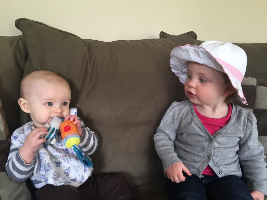 """I loved having """"Baby Luke"""" over to play!"""