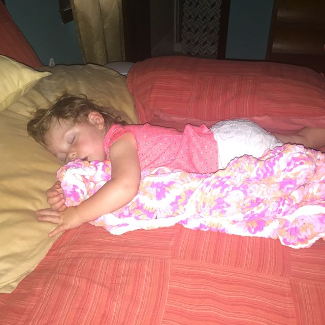This is how you looked after everyone left your 2yo party! #lol #youslept3hours