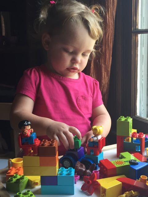 It remains a daily and favorite activity! #build #duplos #butyoucallthemdukkos